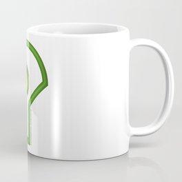 Futuristic Cyborg Logo 3 Coffee Mug