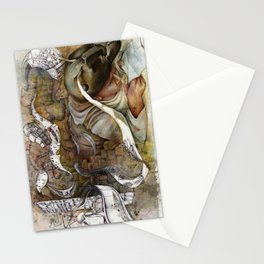 Ants/Shopping  Stationery Cards