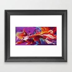 Tailspin Framed Art Print
