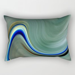 Electric Wave Rectangular Pillow