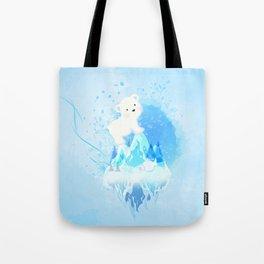 Save Polar Bear! Tote Bag