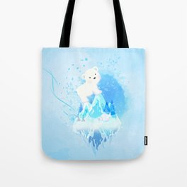 Save Polar Bear! Tote Bag