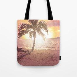 Maui Beach Sunset Tote Bag