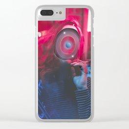 I turn in my mind Clear iPhone Case