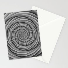 Coiled Cables in Black and White Stationery Cards