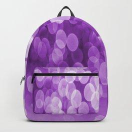 Bokeh Light Purple Tone #decor #society6 #buyart Backpack