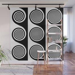 Liquorice wheels Wall Mural
