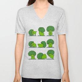 Broccoli Yoga Unisex V-Neck