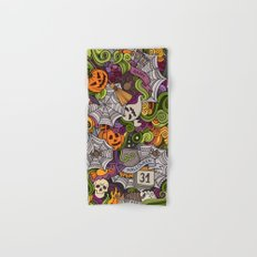 happy halloween - Halloween Bath Towels
