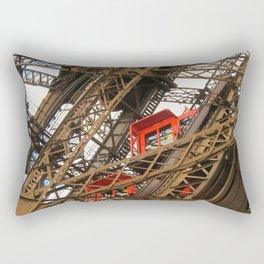 Emerging From The Inside Rectangular Pillow