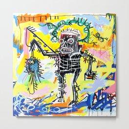 Jean-Michel Basquiat - Fishing 1981 Metal Print