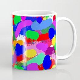 Paint Splodge Colour Abstract Coffee Mug