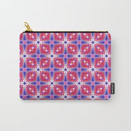Watercolor Geometry Mod Pink Carry-All Pouch