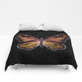 Monarch Butterfly - By MagTag519 Comforters