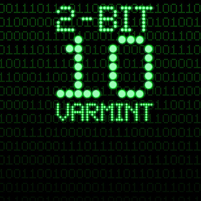 2-Bit Varmint / Binary vermin team code Leggings