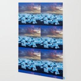 The Blue Crush Iceland Wallpaper