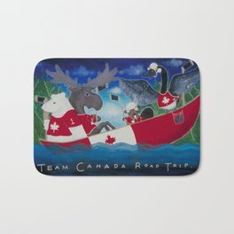 Team Canada Road Trip Bath Mat