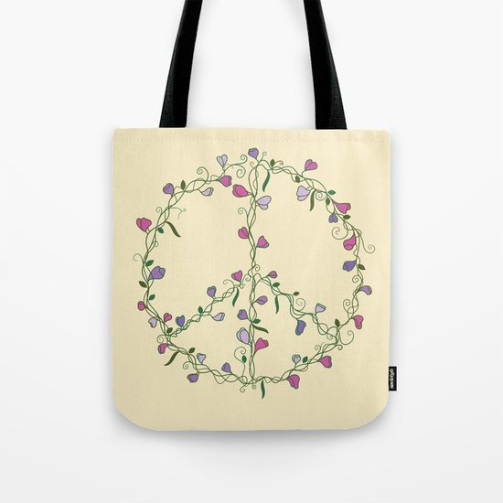 Sweet Peace Tote Bag
