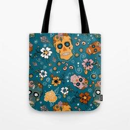 Sugar Skull Party Tote Bag