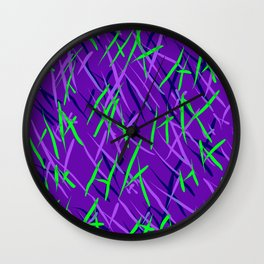 Maniacal Wall Clock