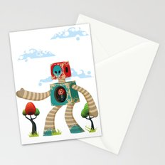 Woody Mecha Stationery Cards