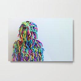 Fringe Panic (portrait) Metal Print
