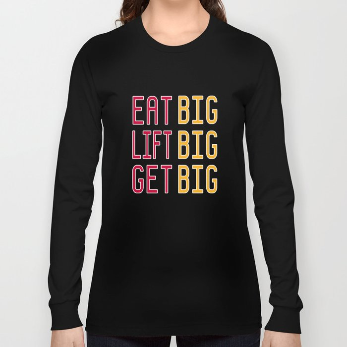 Big x 3 (#8) Long Sleeve T-shirt