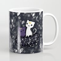 sailormoon Mugs featuring Sailormoon Luna and Artemis by Mayying