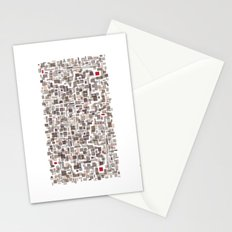 Mapping home 3 Stationery Cards
