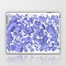Retro Gamer - Blue Laptop & iPad Skin
