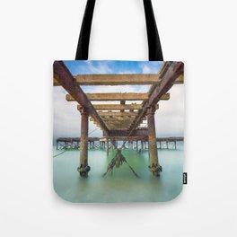 Fort Victoria Pier Tote Bag