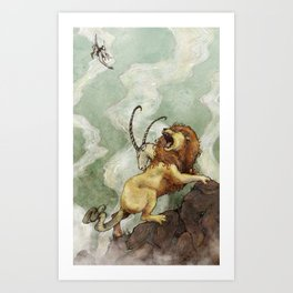 The Chimera Art Print