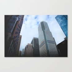 Never Look Down, Always Look Up Canvas Print