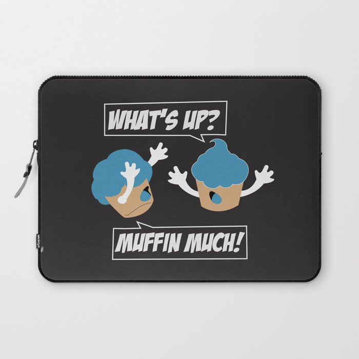 Muffin Much! Laptop Sleeve