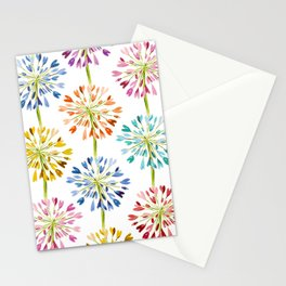 Heart Flower - colorful Stationery Cards