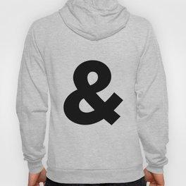 Sans Serif Ampersand  Hoody