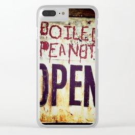 Peanuts Clear iPhone Case