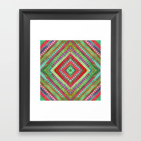 Rhythm IV Framed Art Print