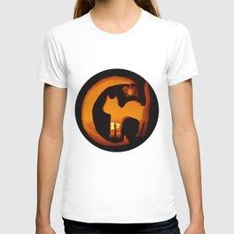 Meow - Halloween Kitten T-shirt