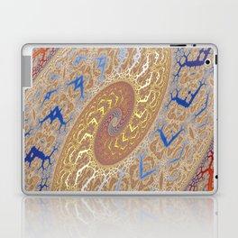 Fractal Double Spiral Laptop & iPad Skin