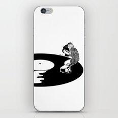 Don't Just Listen, Feel It iPhone Skin