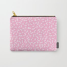 minimal abstract pattern Carry-All Pouch