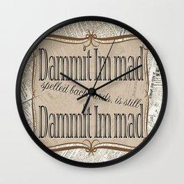 Im Mad Wall Clock