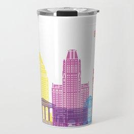 Baltimore skyline pop Travel Mug