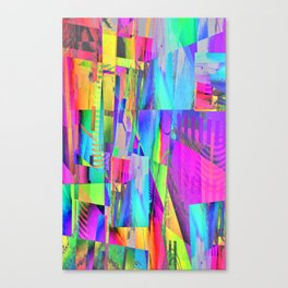 Up - Cycled Canvas Print
