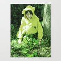 onesie Canvas Prints featuring Onesie Wonder 2 by Dream Realm Photography and Art