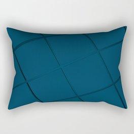 Wavy surface made of cubes Rectangular Pillow