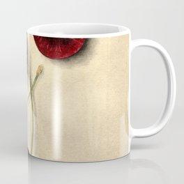 Vintage Illustration of Black Cherries Coffee Mug