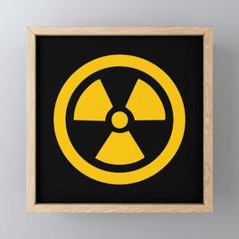 Yellow Radioactive Framed Mini Art Print