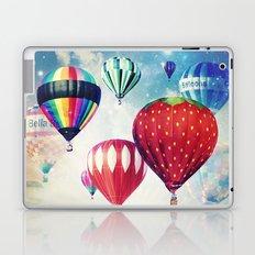Dreaming of Hot Air Balloons Laptop & iPad Skin